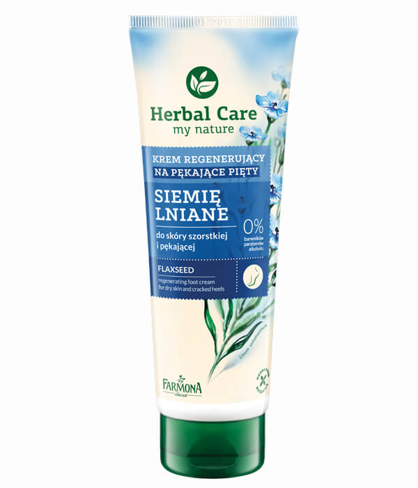 Krem do pięt siemię lniane Herbal Care