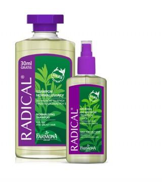Radical linia do włosów tłustych - Pielęgnacja włosów