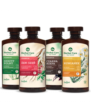 Herbal Care szampony ziolowe - Pielęgnacja włosów
