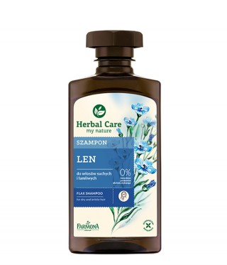 Szampon Lniany Herbal Care