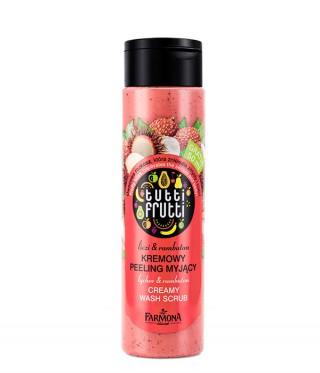 Peeling myjący do ciała Tutti Frutti liczi&rambutan