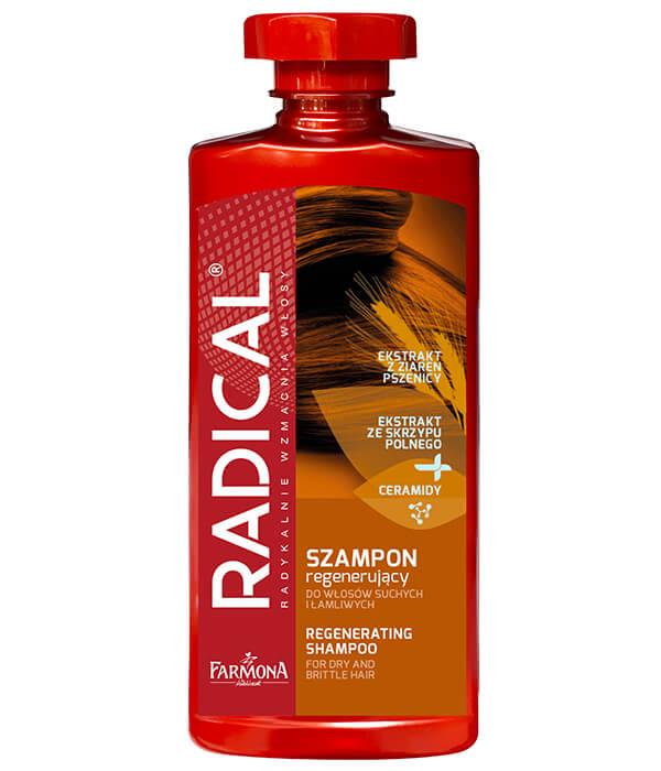 Szampon regenerujący do włosów suchych i łamliwych