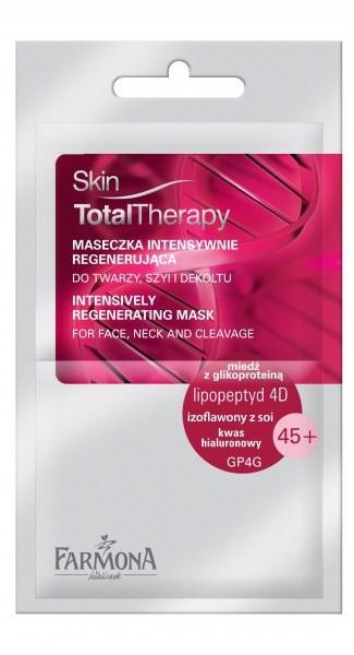 Skin TotalTherapy maseczka intenstywnie regenerująca - Kremy przeciwzmarszczkowe