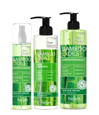 Hair Genic Bamboo & Oils - Pielęgnacja włosów