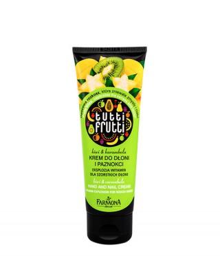 Tutti Frutti Kiwi & Karambola - Krem do rąk
