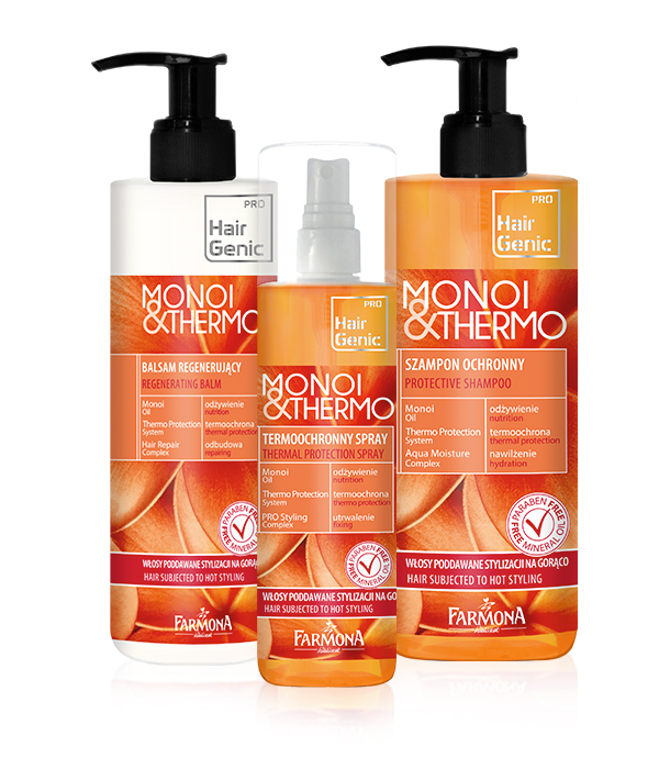 Hair Genic Monoi & Thermo - Pielęgnacja włosów