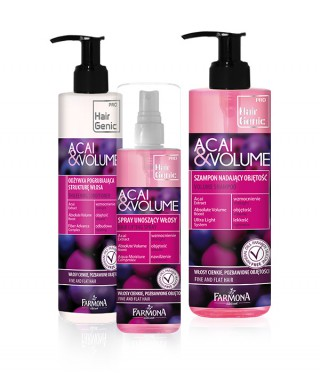 Hair Genic Acai & Volume - Pielęgnacja włosów