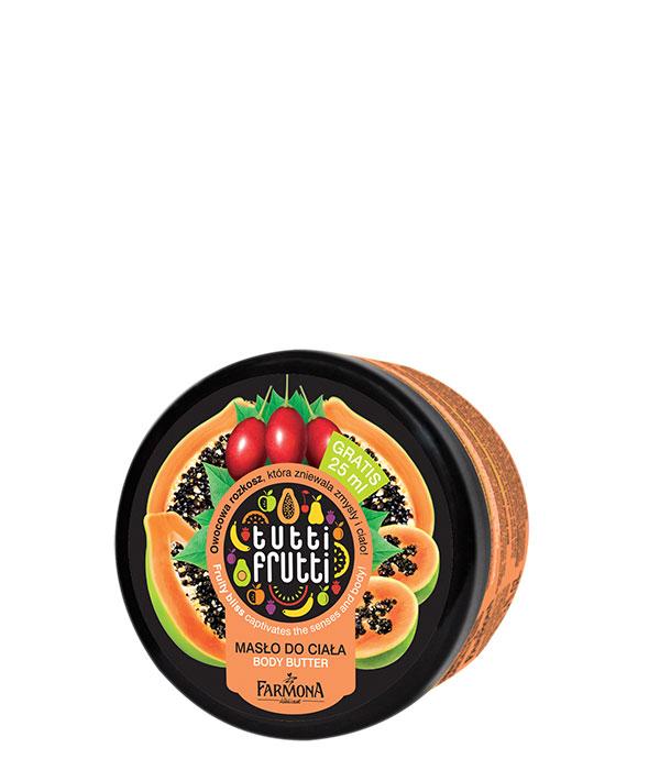 masło do ciała papaja tamarillo