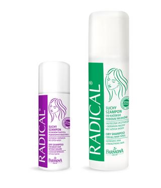 Radical suche szampony - Pielęgnacja włosów