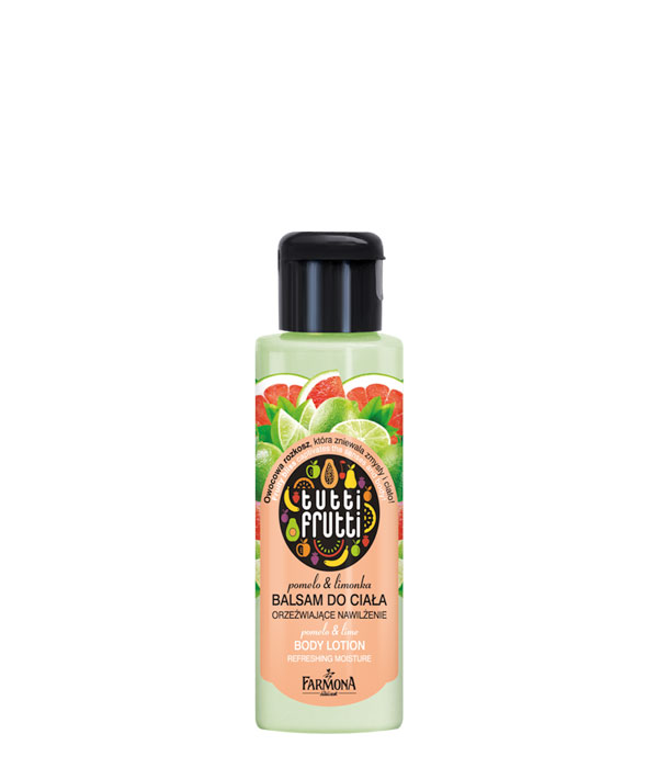 balsam do ciała pomelo&limonka Tutti Frutti