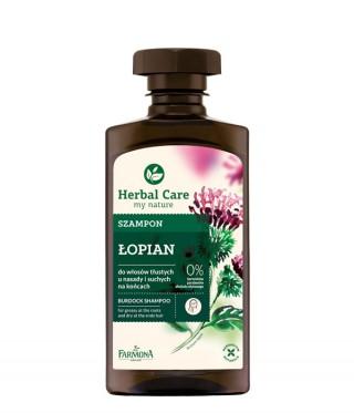 szampon Łopian Herbal Care do włosów przetłuszczających się