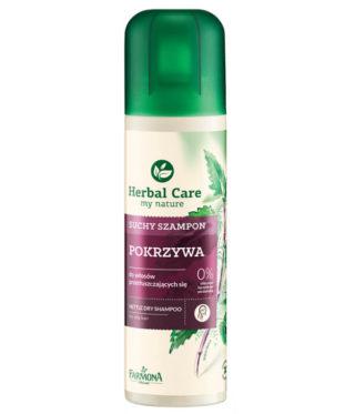 Suchy szampon POKRZYWA do włosów przetłuszczających się
