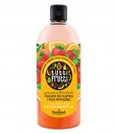 orange&strawberry bath and shower gel