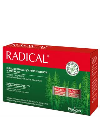 Ampułki Radical na porost włosów - Kosmetyki do włosów
