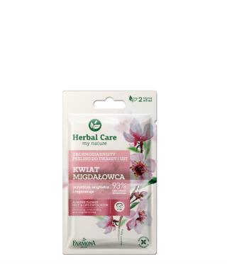 Drobnoziarnisty peeling do twarzy Kwiat Migdałowca Herbal Care