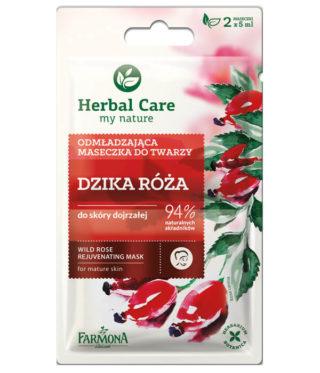 Maseczka odmładzająca Dzika Róża Herbal Care