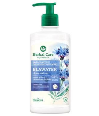 Łagodzący żel do higieny intymnej Bławatek Herbal Care
