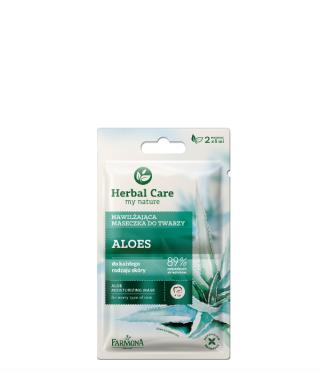Maseczka nawilżająca aloes Herbal Care
