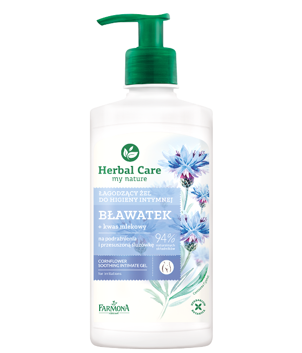 zel do higieny intymnej blawatek herbal care