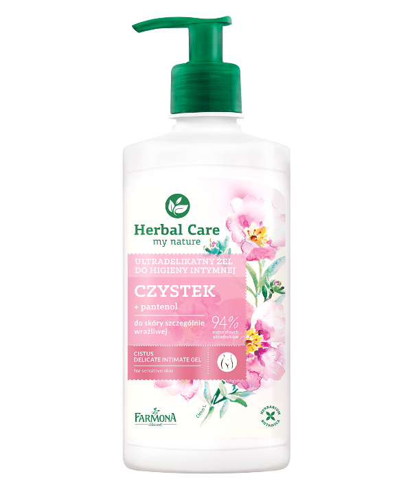 zel do higienty intymnej czystek herbal care