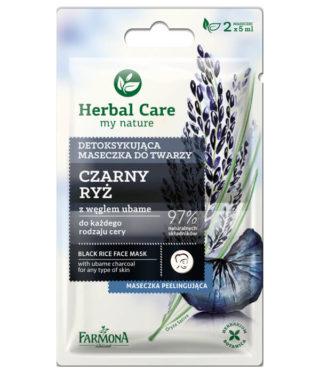 Maseczka detoksykująca Czarny Ryż Herbal Care