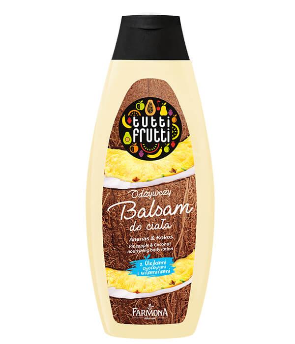 TUTTI FRUTTI Ananas&Kokos Odżywczy balsam do ciała