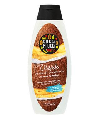 Ananas&Kokos olejek do kąpieli i pod prysznic