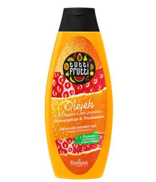 Pomarańcza&Truskawka olejek do kąpieli i pod prysznic