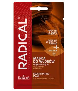 Maska do włosów regenerująca włosy suche i łamliwe