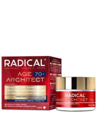 Błyskawicznie napinający krem przeciwzmarszczkowy RADICAL AGE ARCHITECT 70+