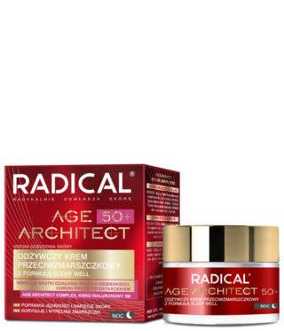 Odżywczy krem przeciwzmarszczkowy RADICAL® AGE ARCHITECT 50+