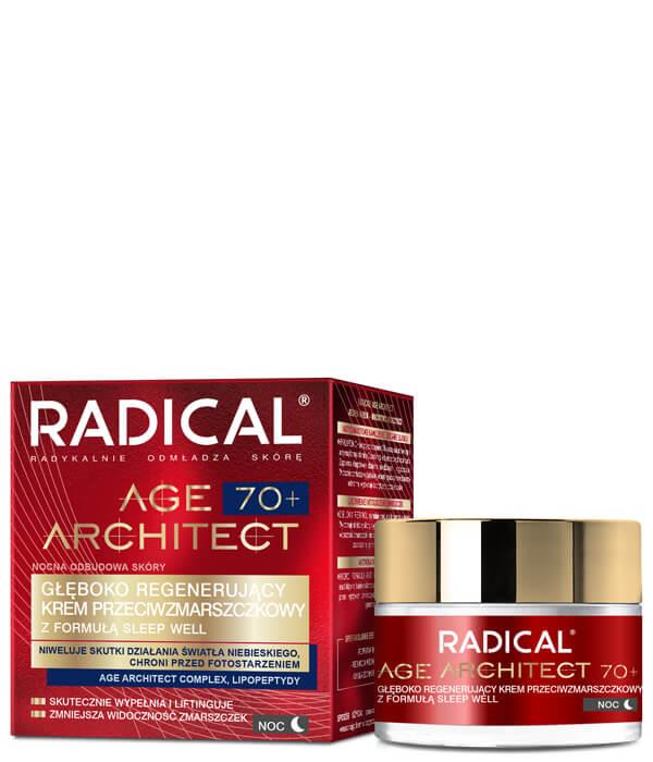 Głęboko regenerujący krem przeciwzmarszczkowy RADICAL AGE ARCHITECT 70+