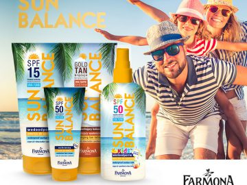 Kosmetyki na lato Sun Balance od Farmony