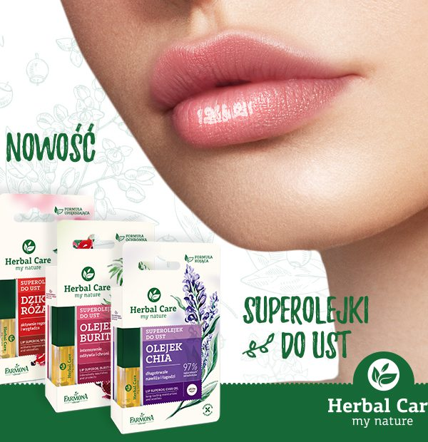 Herbal Care Superolejek do ust