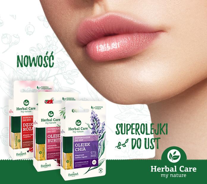 Herbal Care Superolejek do ust