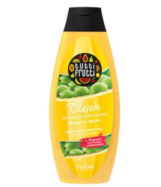 Olejek do kąpieli i pod prysznic Banan&Agrest
