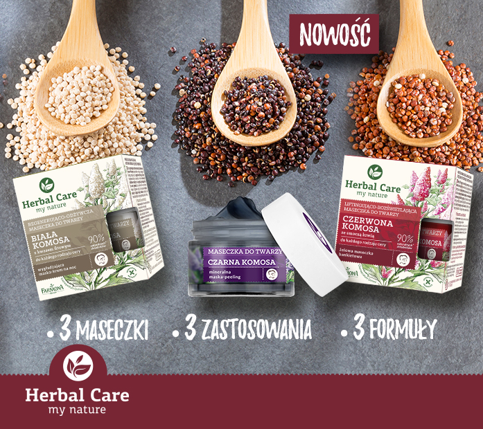 Herbal Care Maseczki z komosą