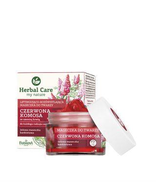 Herbal Care maseczki do twarzy z czerwoną komosą