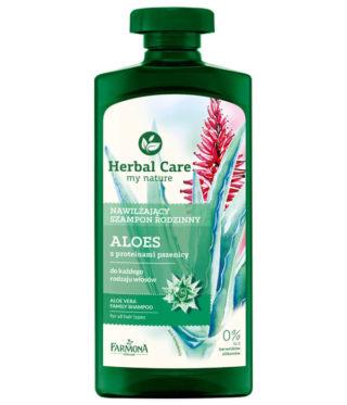 Nawilżający szampon rodzinny Aloes