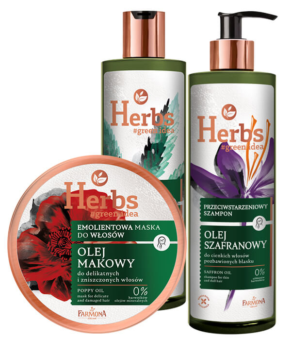 HERBS pielęgnacja włosów