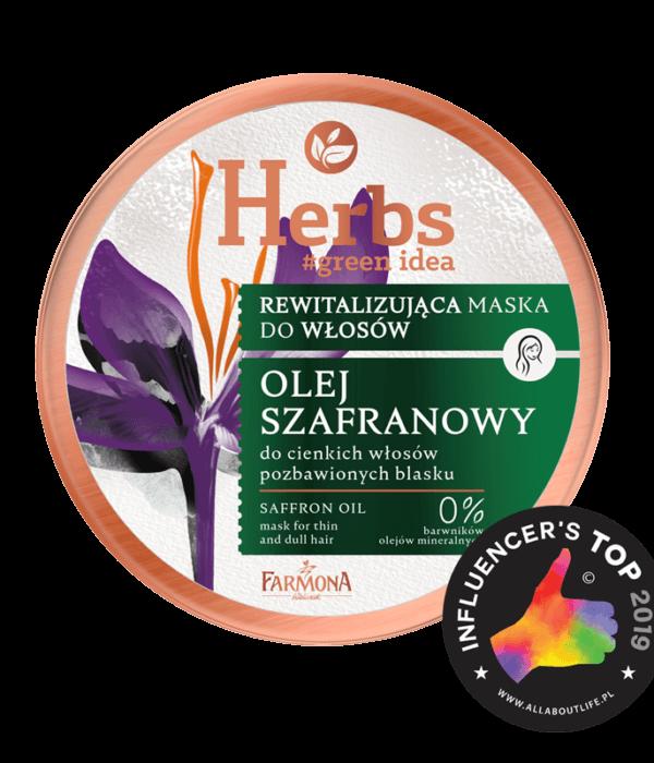 Herbs Olej szafranowy