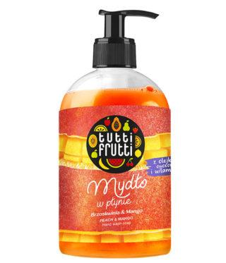 Mydło w płynie z olejkami owocowymi i witaminą E