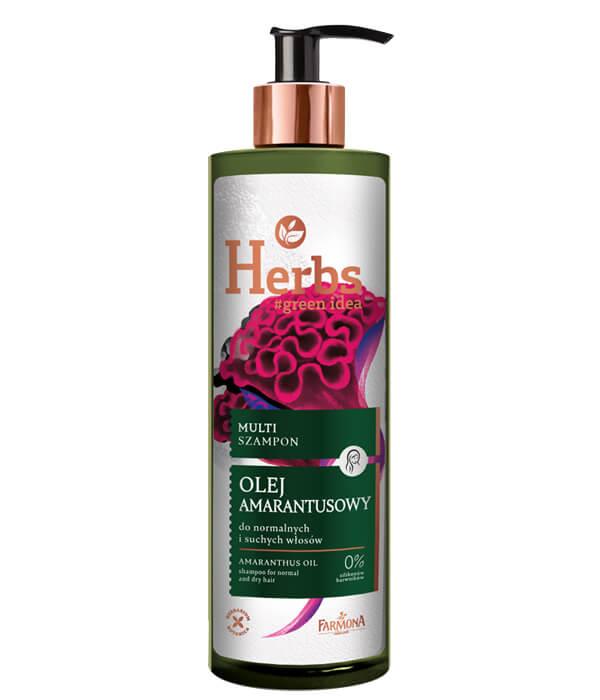 Multi szampon Olej Amarantusowy do normalnych i suchych włosów