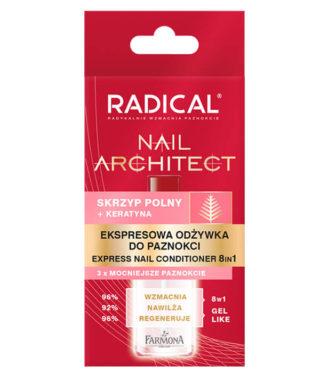 RADICAL NAIL ARCHITECT ekspresowa odżywka do paznokci 8w1