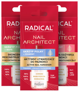 RADICAL NAIL ARCHITECT Paznokcie