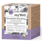 my'BIO Kanadyjski BioLifting 30+ CZARNY ŚWIERK bio - krem wygładzająco - odżywczy na noc