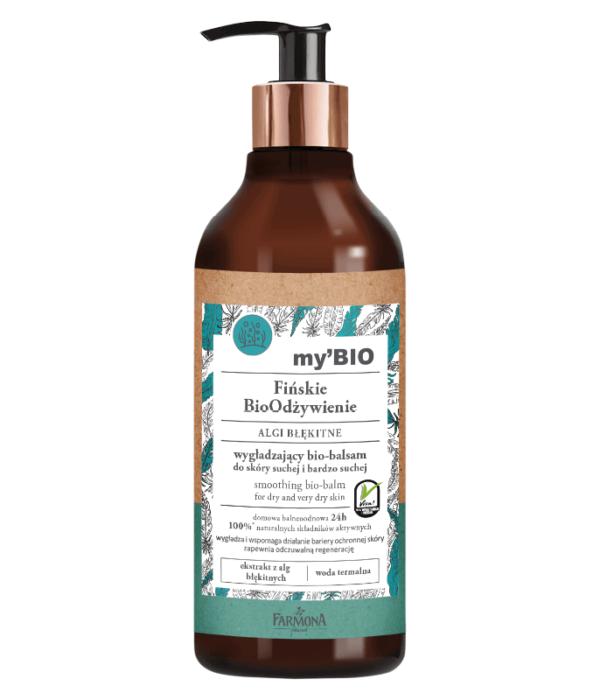 my'BIO Fińskie BioOdżywienie ALGI BŁĘKITNE wygładzający bio-balsam do skóry suchej i bardzo suchej