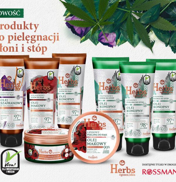 Herbs Produkty do pielęgnacji dłoni i stóp
