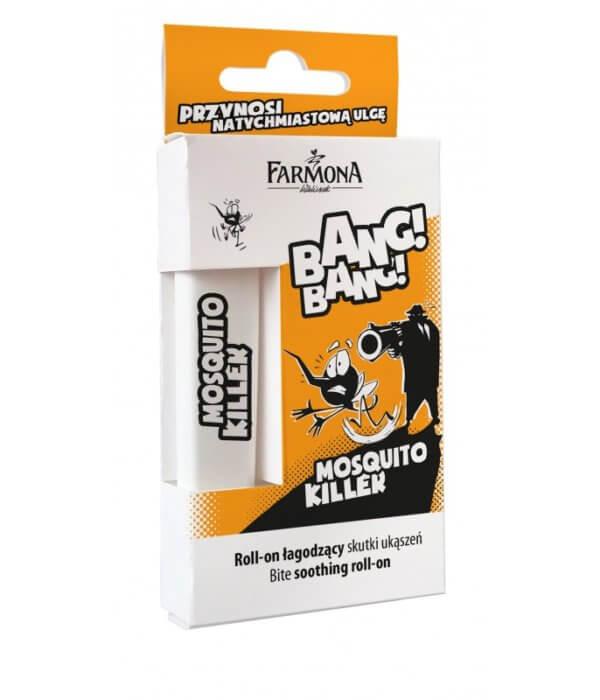 MOSQUITO KILLER Roll-on łagodzące skutki ukąszeń 10ml