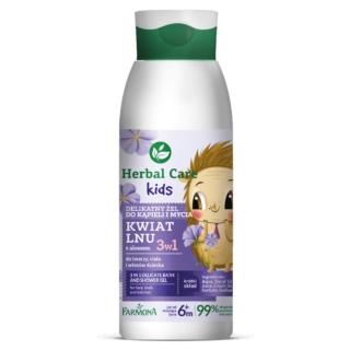 Herbal Care Kids 3w1 Delikatny żel do kąpieli oraz mycia, 400ml